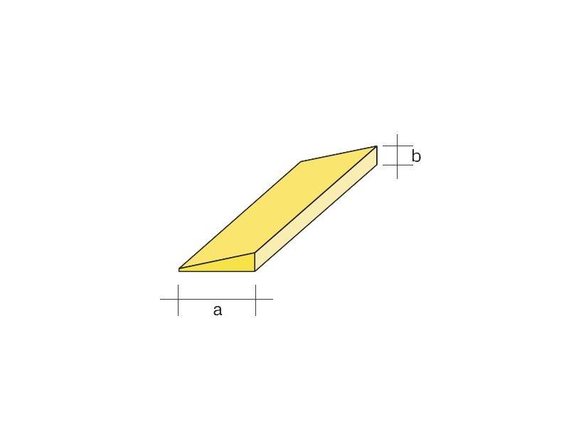 Balsa-Endleiste für Normalprofile 5x25 / 1000 mm