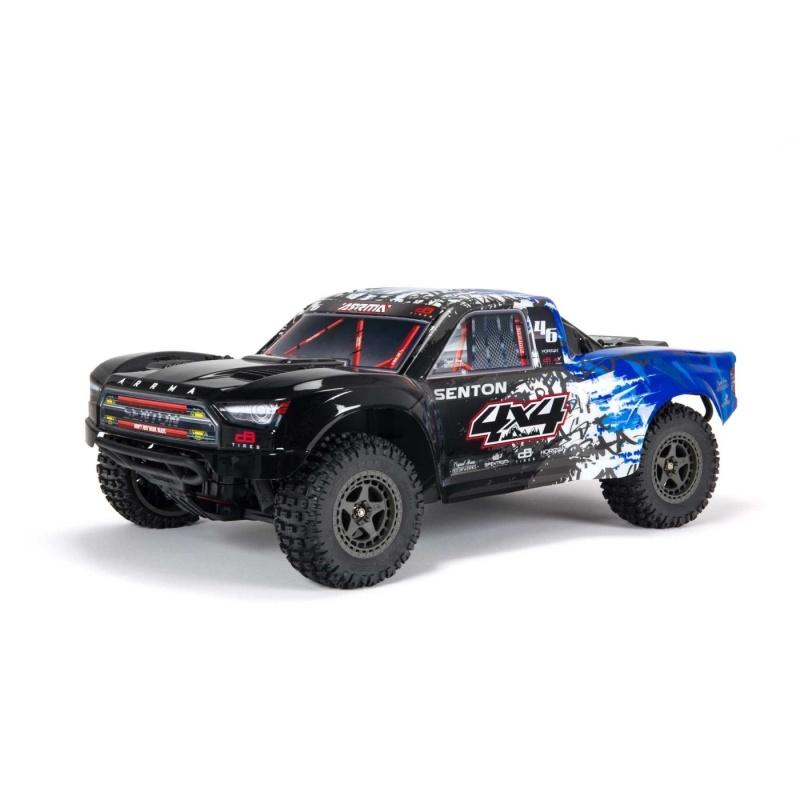 Senton 4x4 BLX 3S Brushless 4WD Short Course 1/10 RTR, blau