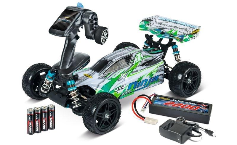 X-10 Ninja-Pro 4WD Buggy 1/10 2,4GHz 100% RTR