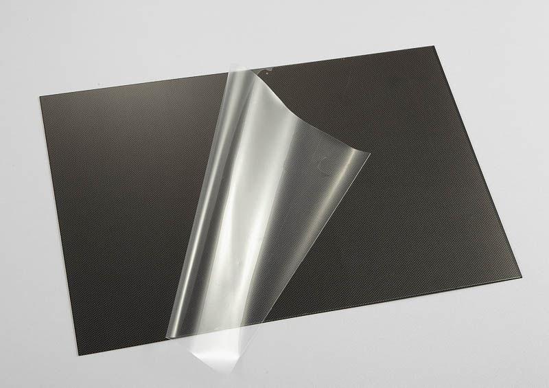 Lexan Platte Kohlefaser Optik (203 x 305 x 0,5mm)