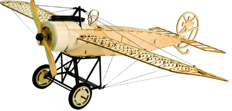 Fokker E.III Flugmodell 410mm Holzbausatz