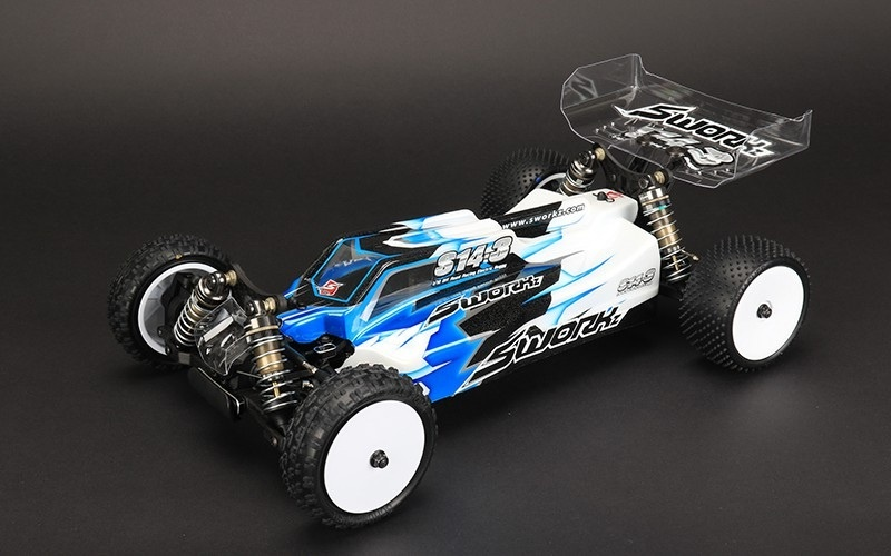S14-3 1/10 4WD Off-Road Buggy PRO Kit - Limited Edition