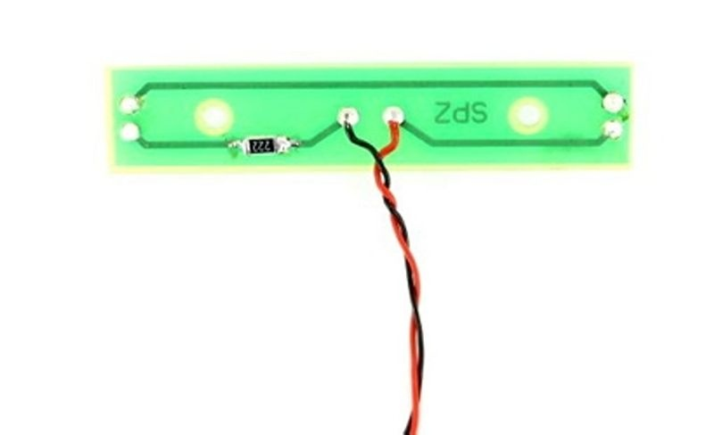 Nummernschildbeleuchtung 7,2-14V 1:14