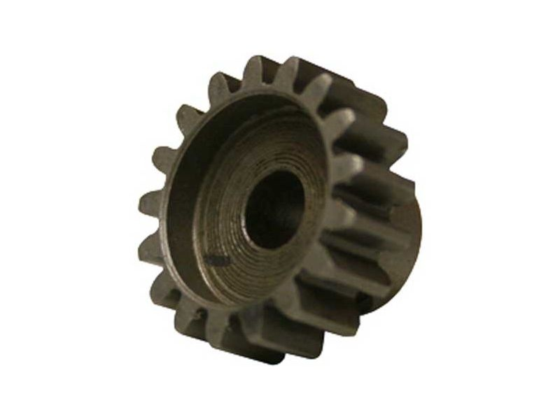 Motorritzel Stahl light, 15 Zähne, Modul 1, 3,17mm Welle