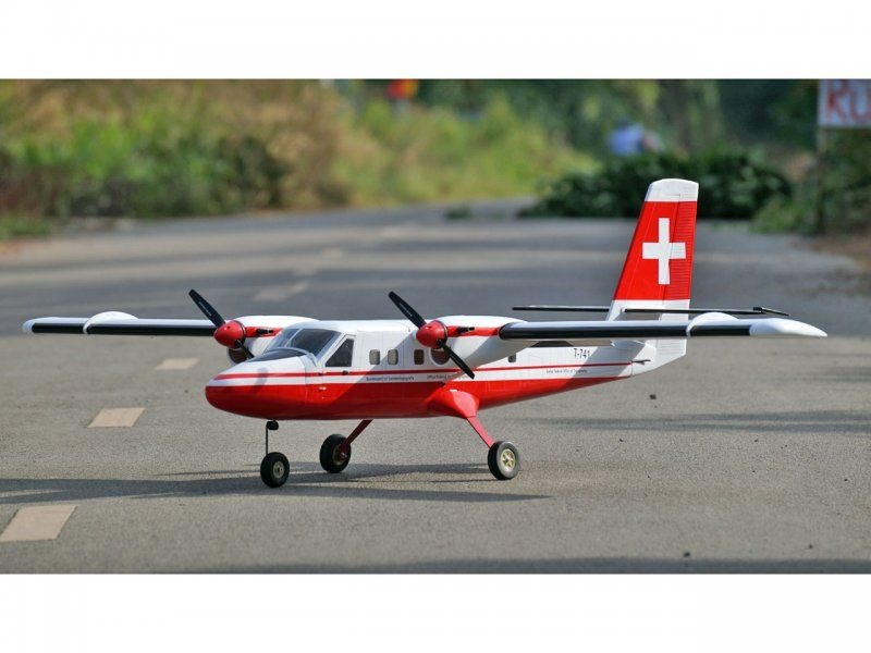 Twin Otter (Swiss) Flugmodell 1875mm ARF
