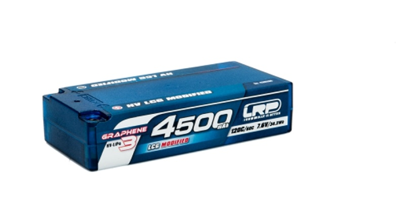 LiPo Akku 2S 4500mAh HV LCG Shorty 7,6V Graphene-3 120C/60C