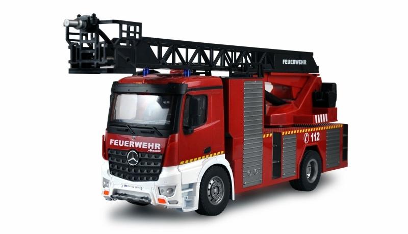 Mercedes-Benz AROCS Feuerwehr Drehleiterfahrzeug 1:18 RTR