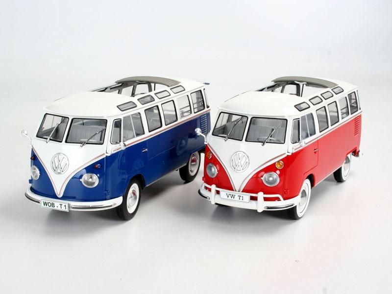 Volkswagen T1 SAMBA BUS 1:24