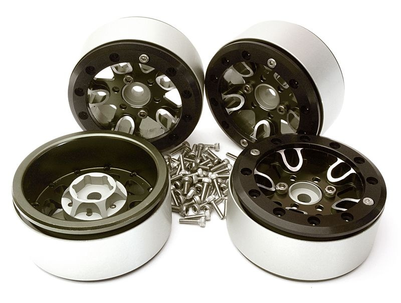 CNC Aluminium 1.9 Felgen für 1/10 Traxxas TRX-4 (4)