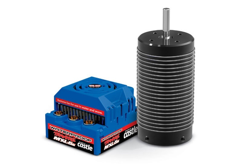 TRAXXAS MXL-6S BL-Set waterproof Brushless Power Set