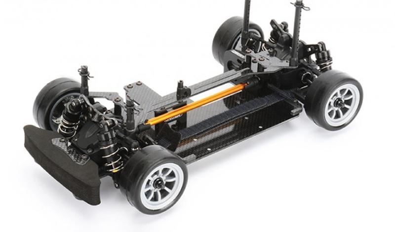 M210 1/10 On-Road 4WD M-Chassis Kohlefaser Bausatz