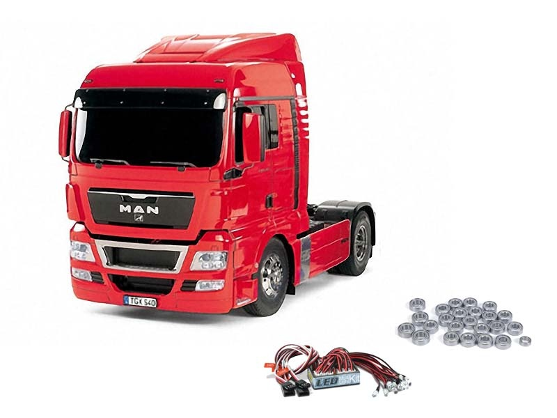MAN TGX 18.540 4x2 XLX - Red Edition inkl. LED + Kugellager