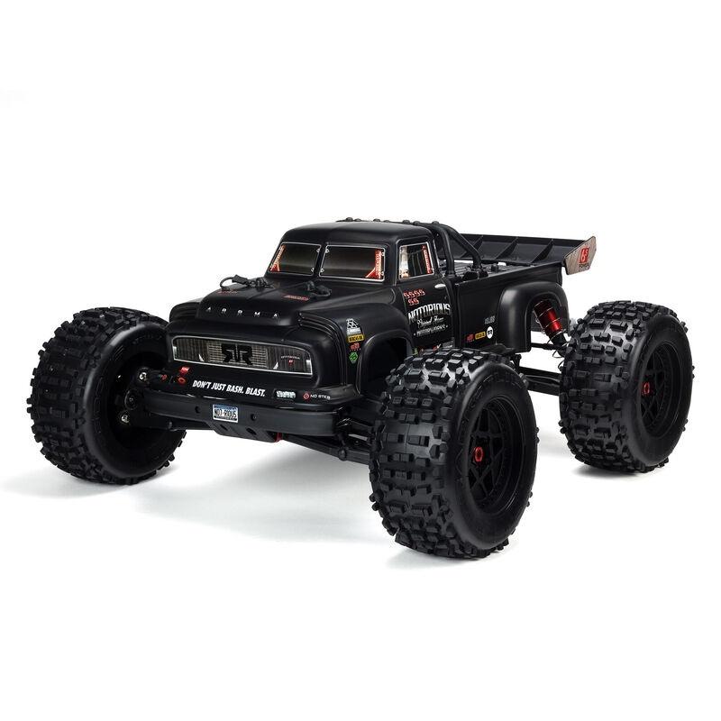 NOTORIOUS 6S V5 4WD BLX Stunt Truck 1:8 RTR schwarz