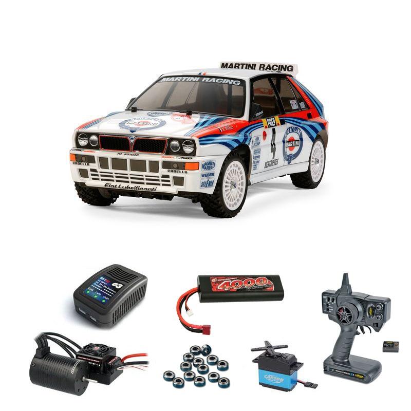 Lancia Delta HF Integrale TT02 Kit Brushless Komplettset