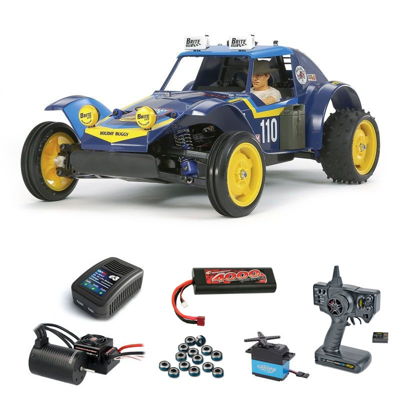 Holiday Buggy 2010 1:10 2WD Brushless-Edition Komplettset