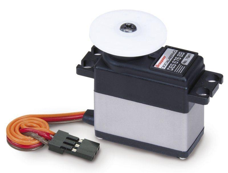 Servo digital DES 676 BB 16 mm mit Carbonitgetriebe