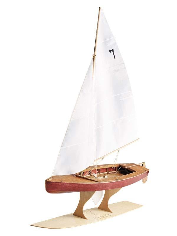 Pirat Segeljolle 1:10 Bausatz