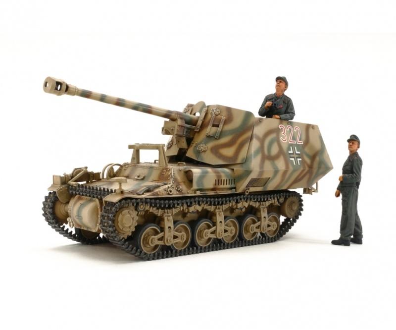 Dt. Sd. Kfz. 135 Marder I Jagdpanzer 1:35 Kunststoff Bausatz