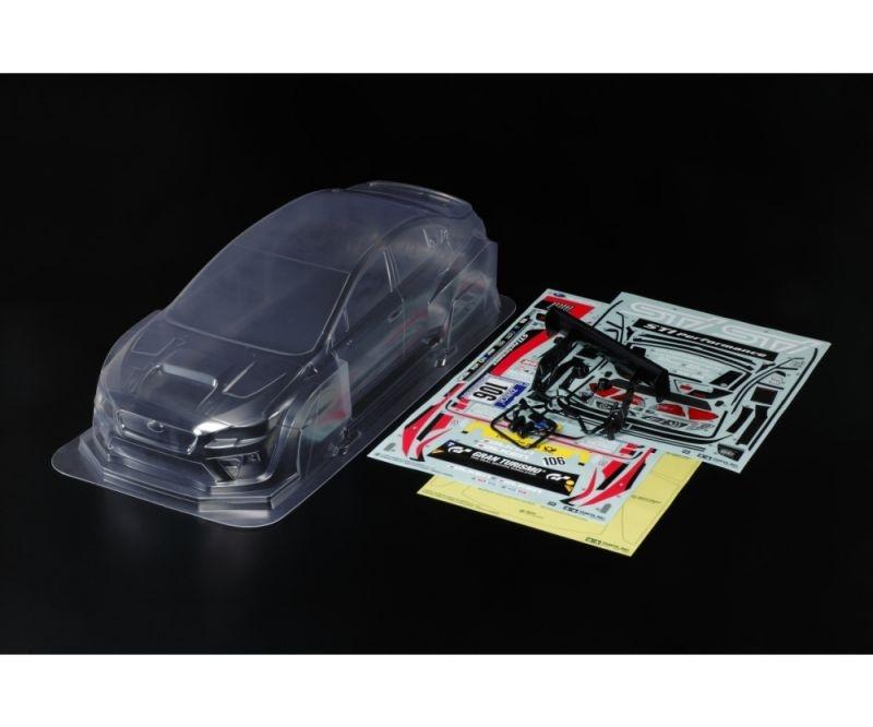 Karosserie Set (klar) LW Subaru WRX STI NBR 1/10 Tourenwagen