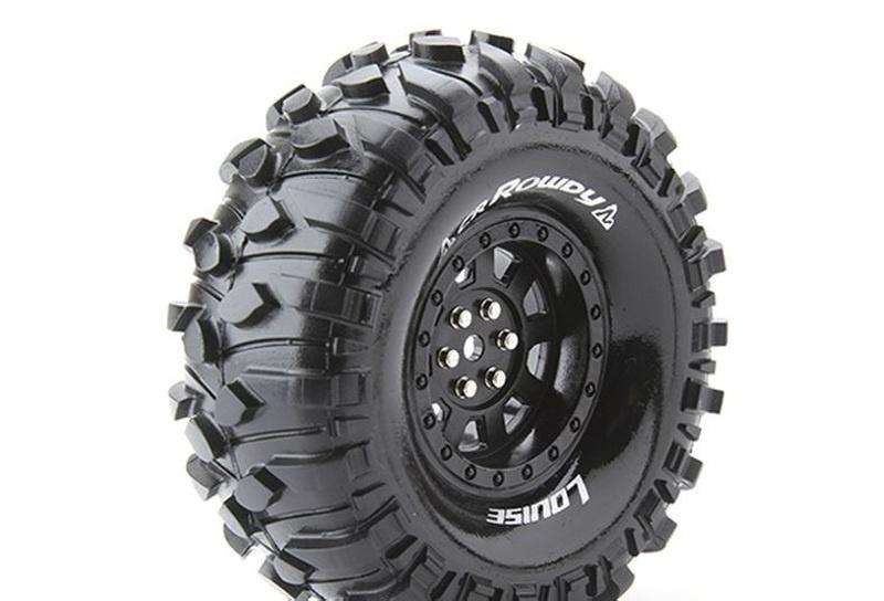 CR-ROWDY 1.9 supersoft Reifen mit Einlage 1:10 Crawler (2)