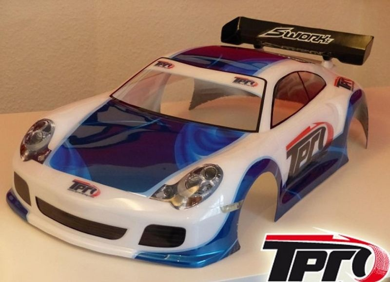 TPRO GT 3000 1/8 GT Karosserie unlackiert inkl. Dekorbogen