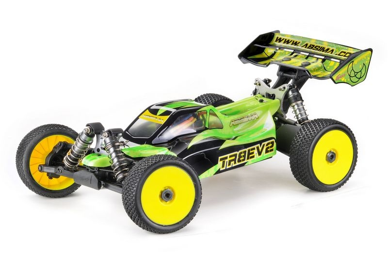 TR8EV2 1:8 EP Buggy 4WD Brushless RTR