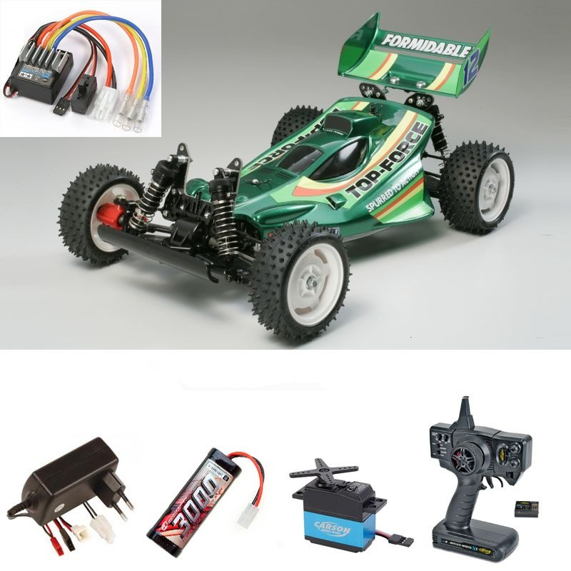 Top Force 2017 1:10 4WD Offroad Buggy Komplettset