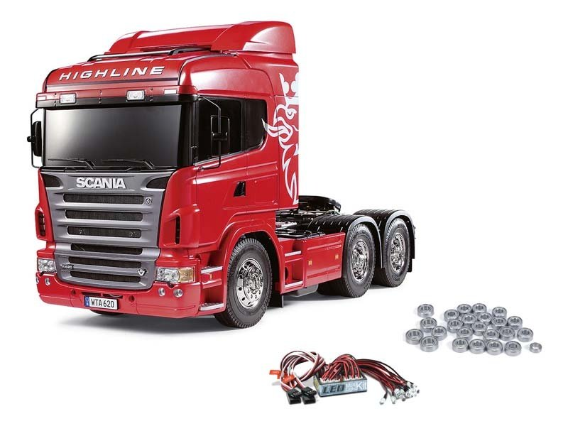 Scania R620 3-Achs 6x4 inkl. LED und Kugellager