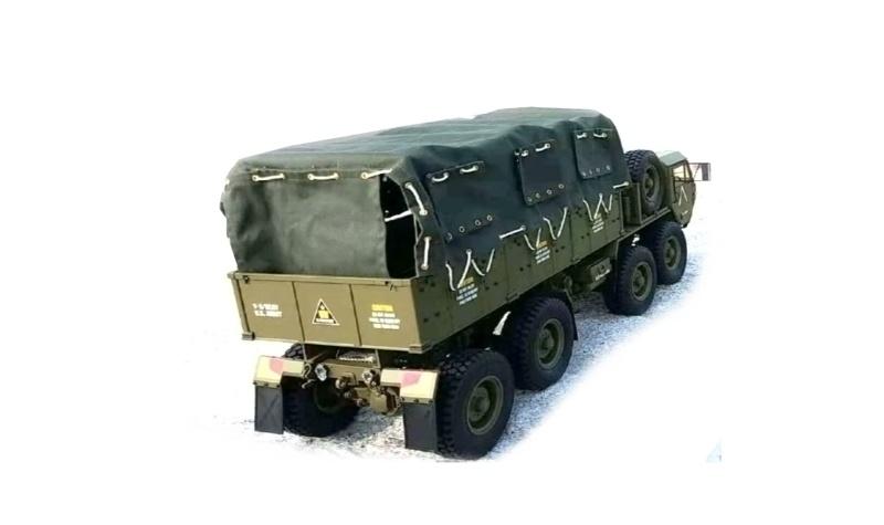 Planen Set für 22389 U.S. Militär Scale Truck 1/12