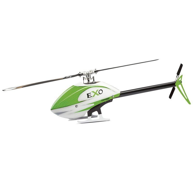 Compass eXo 500 mit CF Rotorblättern - grüne Haube