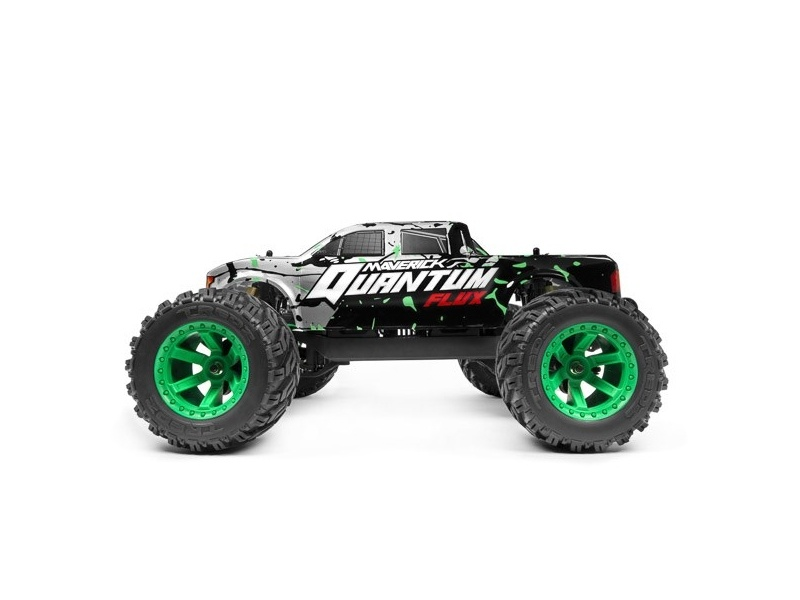 Quantum MT Flux 1/10 4WD Brushless Monster Truck RTR silber