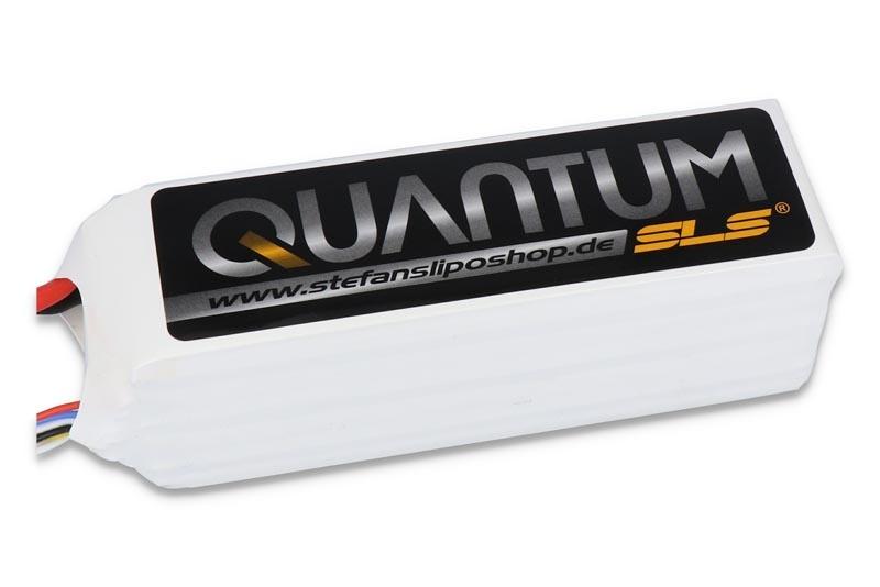 SLS Quantum 5000mAh 6S1P 22,2V 65C/130C (AWG10)