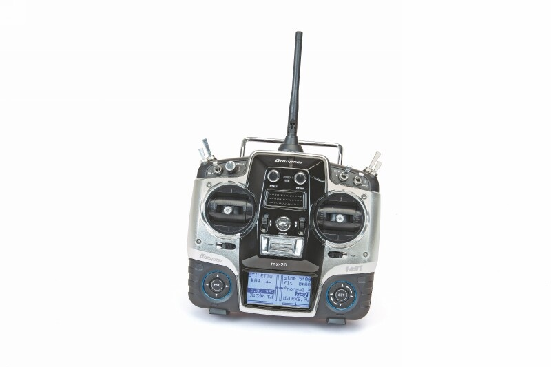 Sender einzeln MX-20 HoTT 12-Kanal DE
