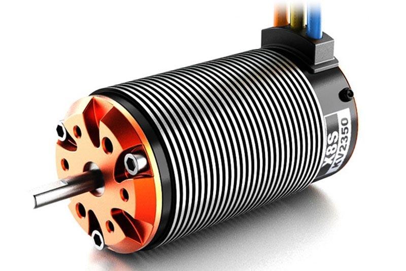 TORO X8S Buggy BL Motor Sensor 4 Pole 12 Slot 2D, 2150KV