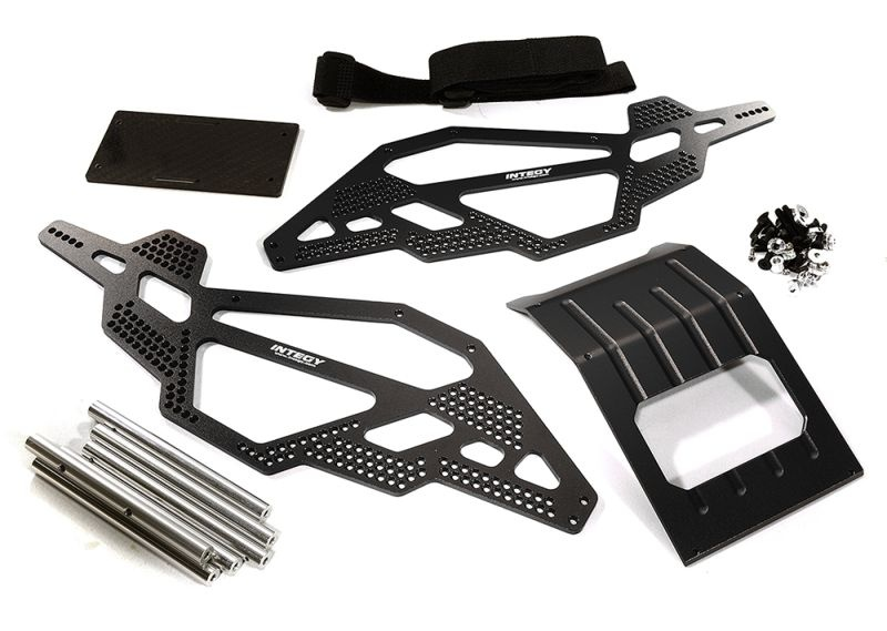 CNC Chassis Kit für 1/10 Scale Rock Crawler Axial AX10