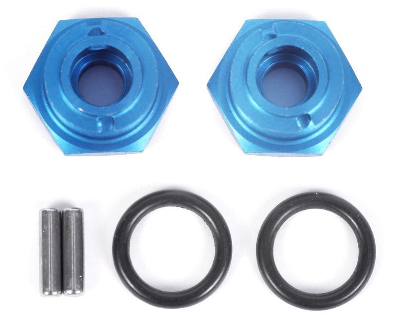 Radmitnehmer+1mm,blau DT-02