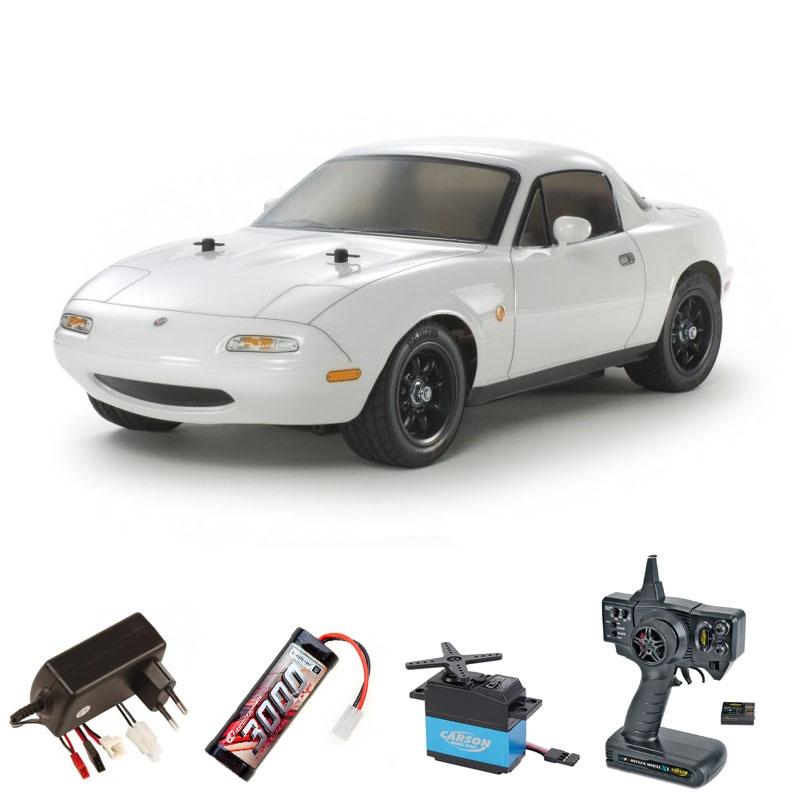 Eunos Roadster M-06 Baukasten 1:10 2,4Ghz Komplettset