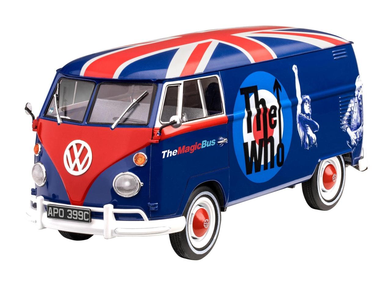VW T1 Tour Bus  The Who  1:24