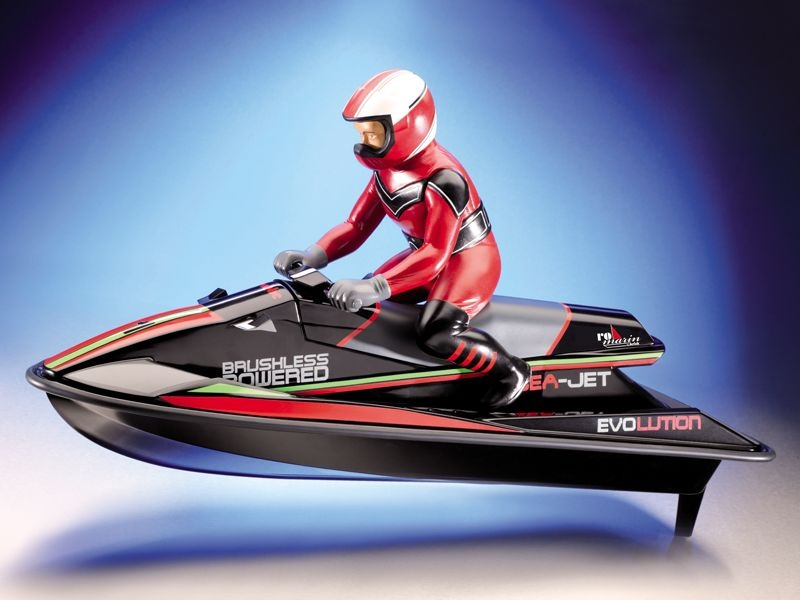 Sea-Jet Evolution Bausatz - Rasanter Wassersportler
