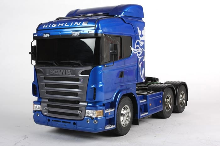 Scania R620 6x4 Highline blue edition