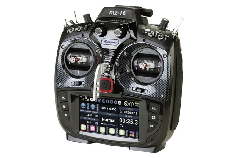 mz-16 2.4GHz HoTT 16-Kanal Fernsteuerung - Einzelsender