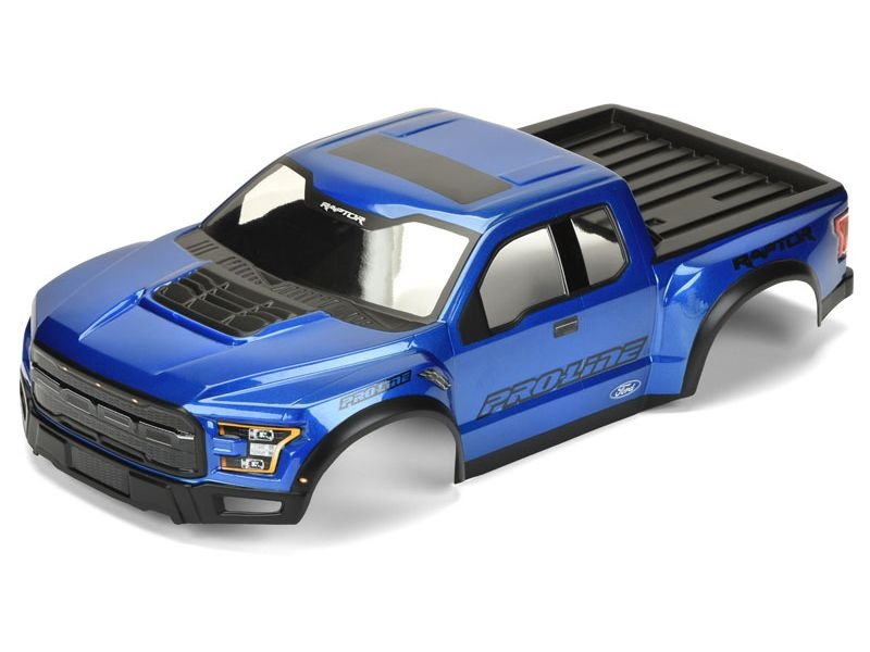 2017 Ford F-150 Raptor True Scale Karosserie blau lackiert
