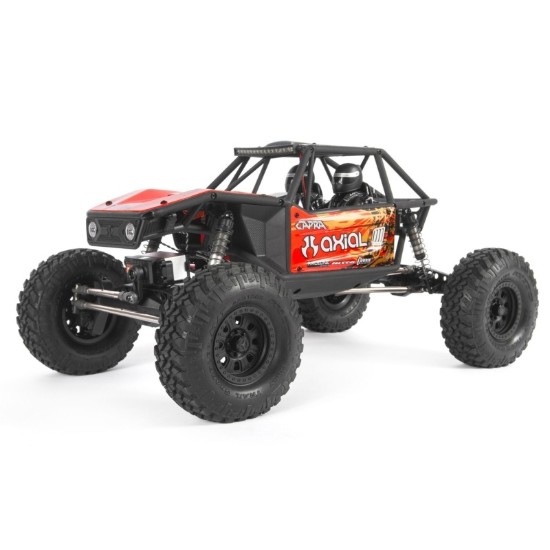 Capra 1.9 4WD Unlimited Trail Buggy 1/10 2,4GHz RTR, rot