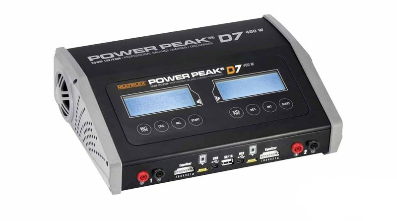 Power Peak D7 EQ-BID 12V/230V