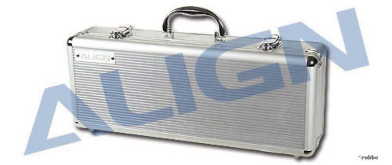 T-REX 250 Aluminum Transportkoffer, silber