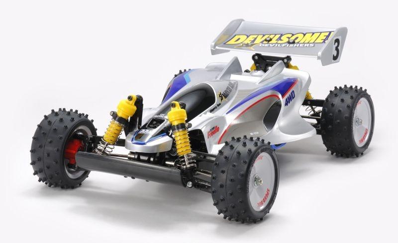 Manta Ray 2018 Buggy Wiederauflage 1:10 4WD Bausatz