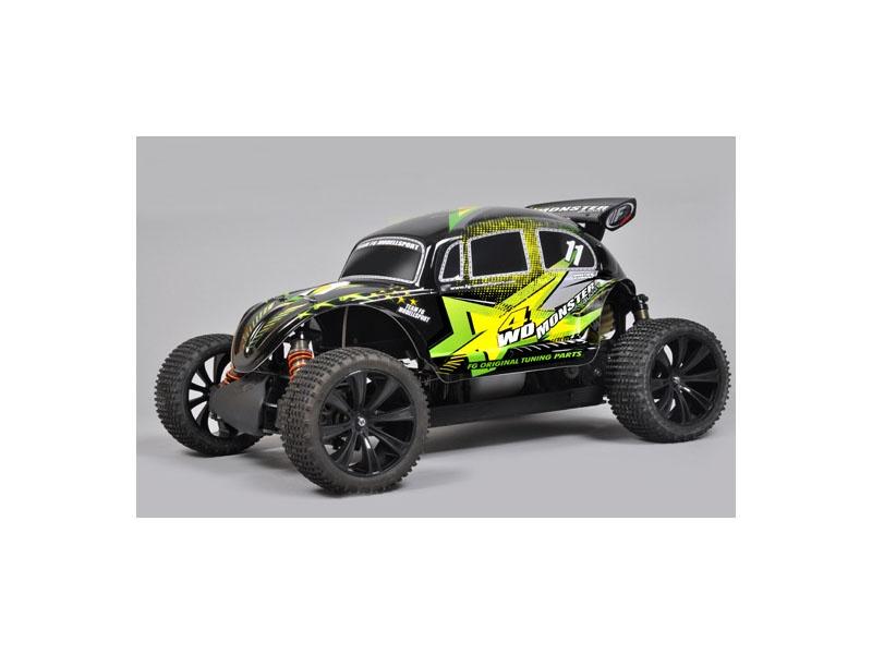 Monster Buggy 4WD 26ccm Benzin RTR 1:5