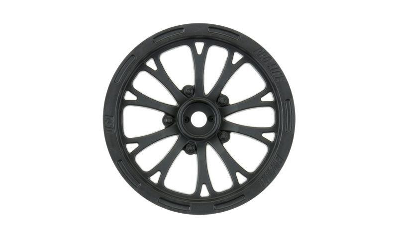 Pomona Drag Spec 2.2 schwarz Felge vorne Slash 2WD (2)