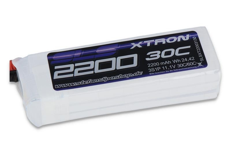 XTRON 2200mAh 3S1P 11,1V 30C/60C