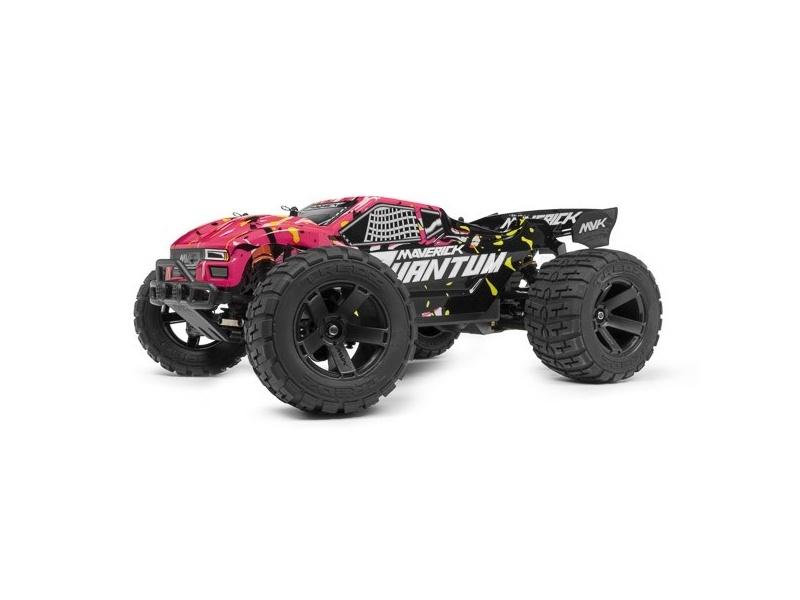 Quantum XT 1/10 4WD Stadium Truck RTR mit Akku, Lader - pink